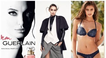 Week in Review | Gigi Hadid for Vogue China, Angelina Jolie's New Fragrance Ad, Taylor Hill for VS + More