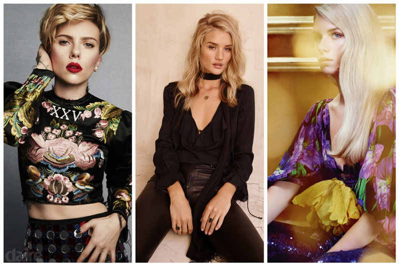 Week in Review | Lottie Moss for BAZAAR Russia, Rosie Huntington-Whiteley's New Ads, Scarlett Johansson for Marie Claire + More