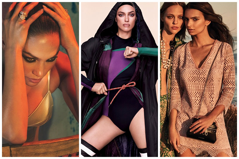 Week in Review | Irina Shayk Stuns in Vogue Japan, Emily Ratajkowski for TwinSet, Stars Cover W + More