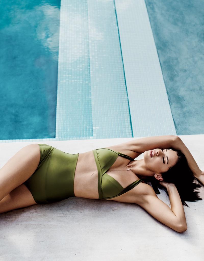 Adriana Lima Stars in Ocean Drive, Wants to Walk Victoria's Secret Until She's 40