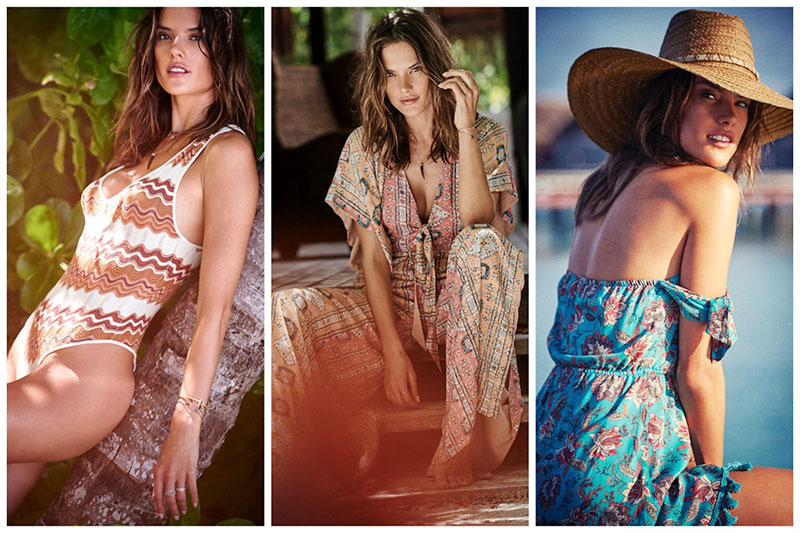 Alessandra Ambrosio's Beach-Ready Designs Are Here Just In Time for Spring