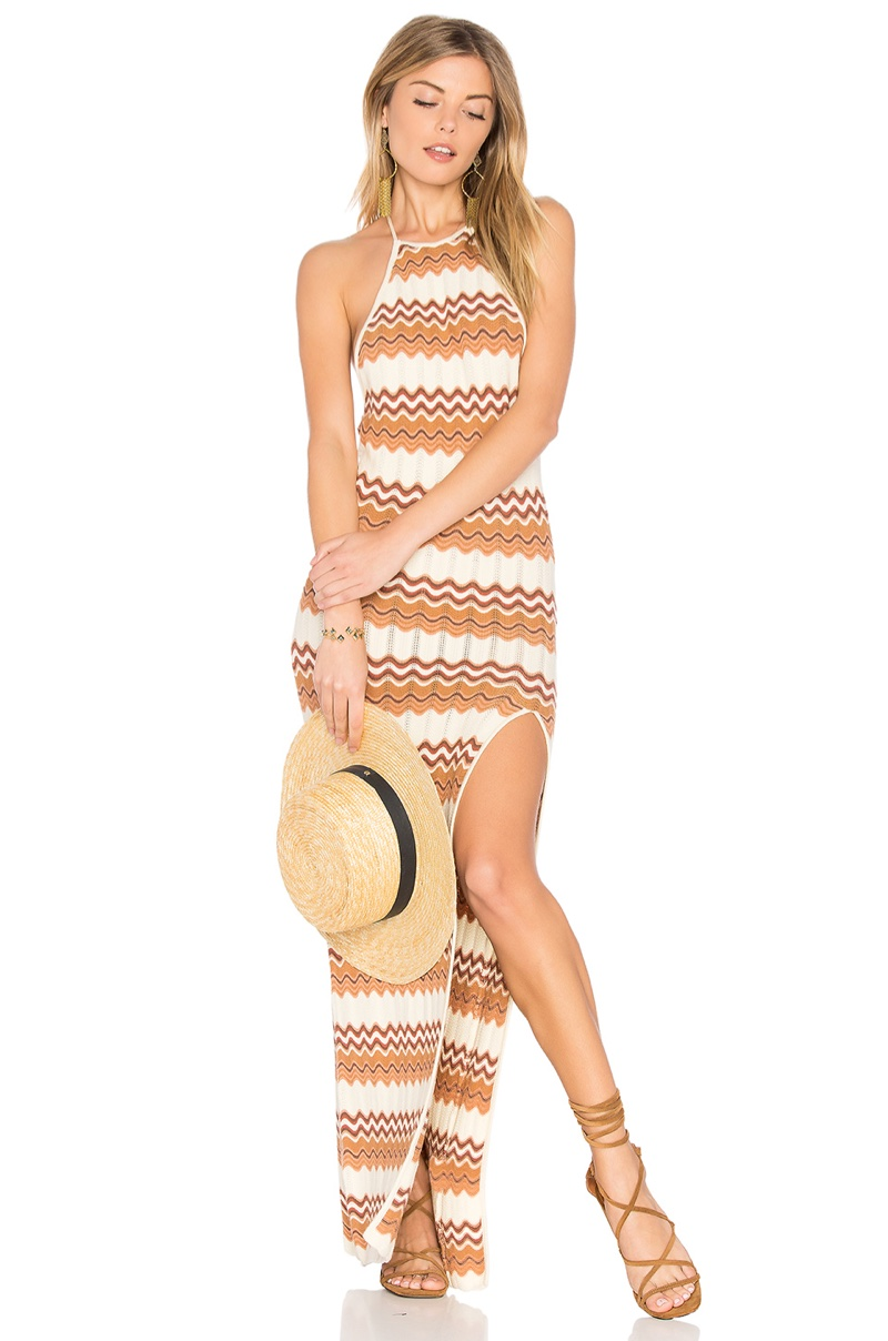 Ale by Alessandra Thais Knit Maxi Dress