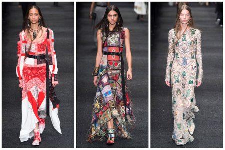 Alexander McQueen's Patchwork Elegance for Fall 2017