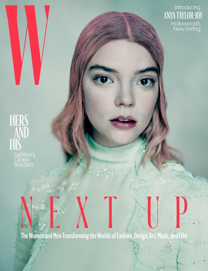 Anya Taylor-Joy on W Magazine April 2017 Cover