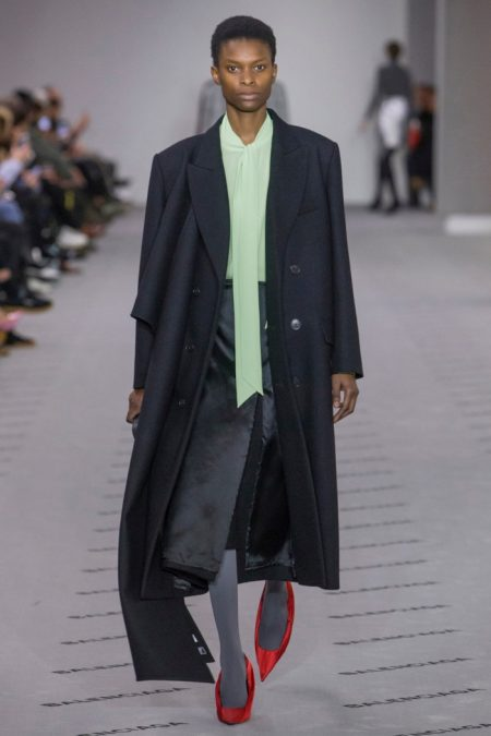 Balenciaga Delivers Effortless Luxe for Fall 2017