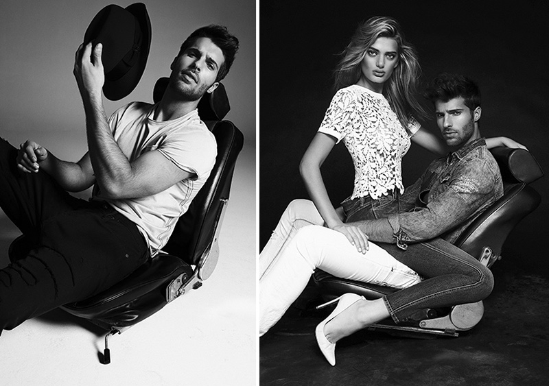 An image from Buffalo Jeans' spring-summer 2017 campaign
