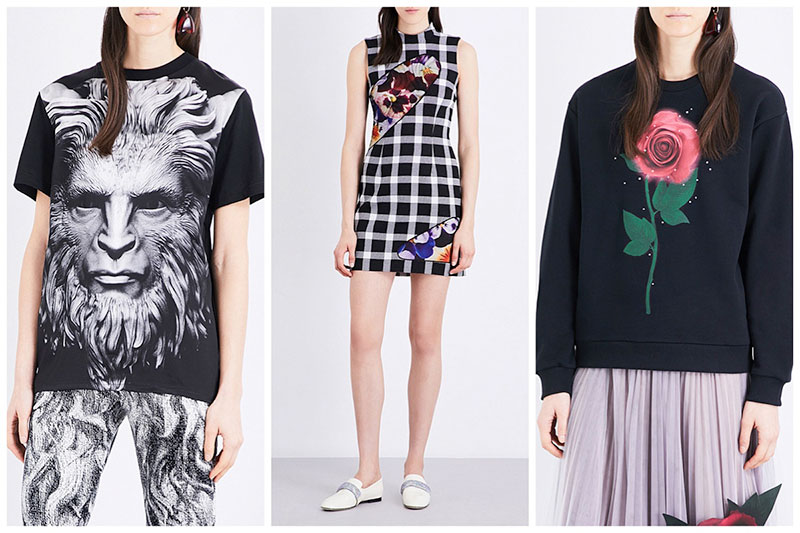 Christopher Kane x Beauty and the Beast arrives