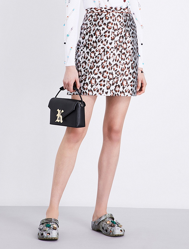 Christopher Kane x Beauty and the Beast Jacquard Skirt