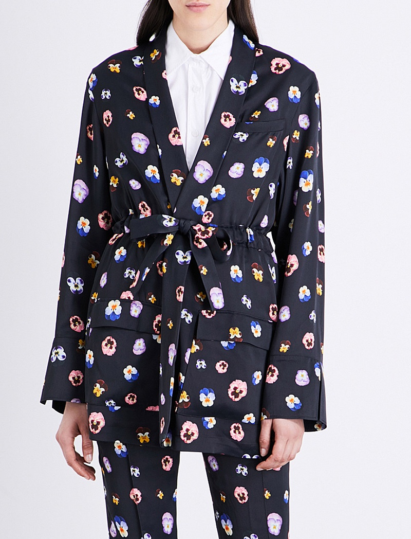 Christopher Kane x Beauty and the Beast Satin Shirt
