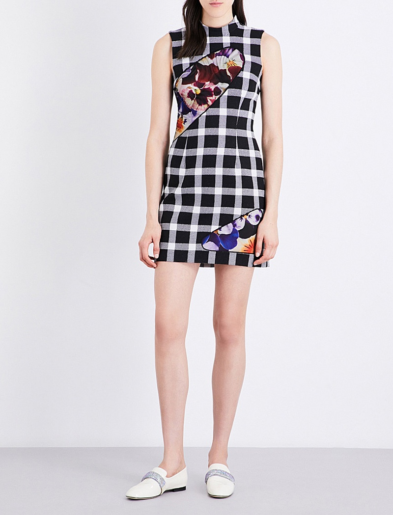 Christopher Kane x Beauty and the Beast Wool Blend Dress
