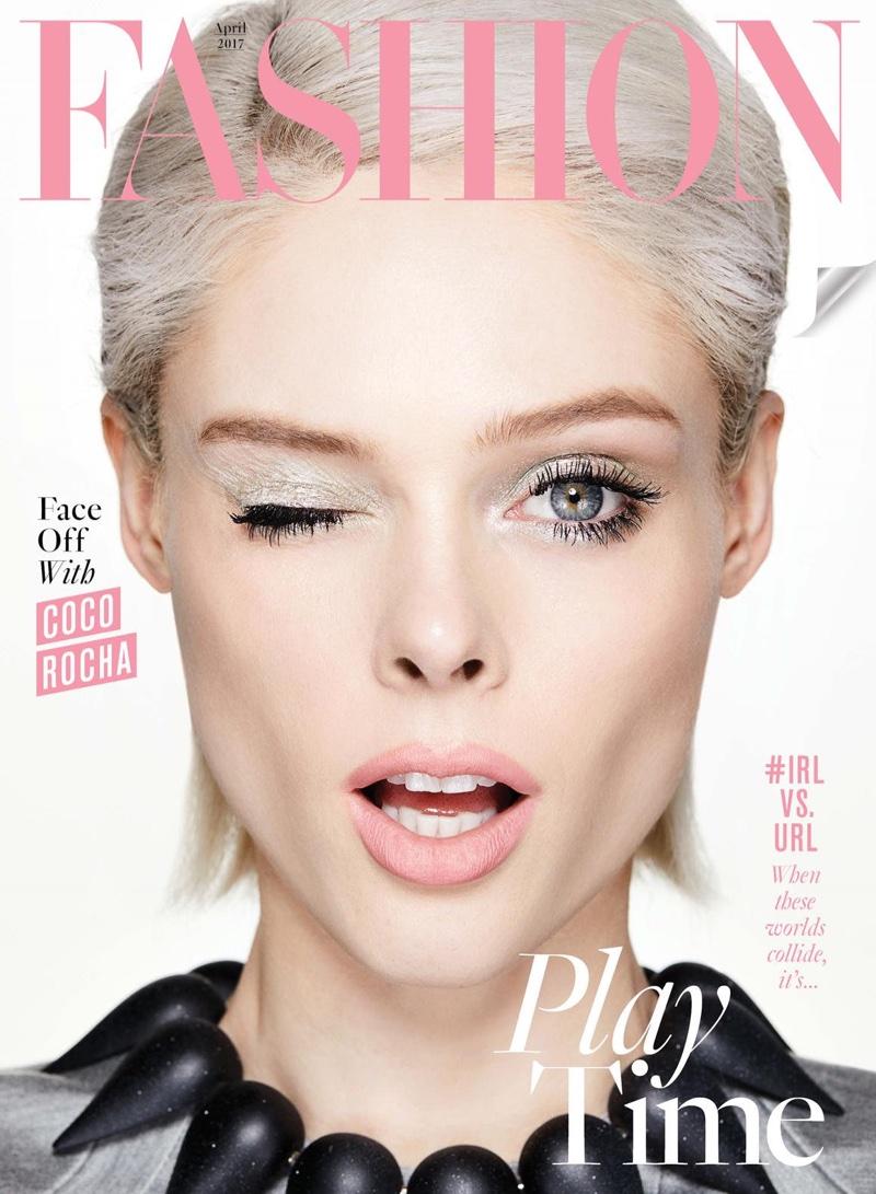 Coco Rocha on FASHION Magazine April 2017 Cover
