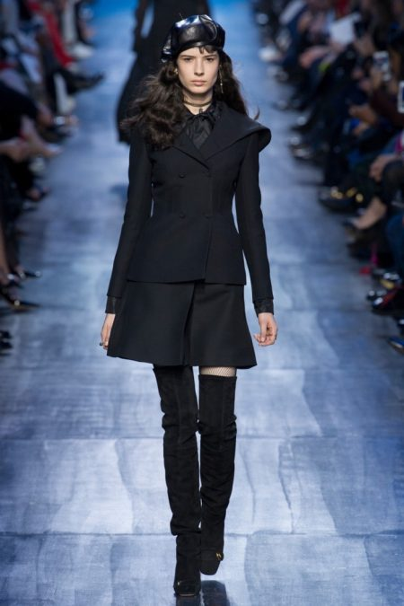 Dior Goes Into the Blue for Fall 2017