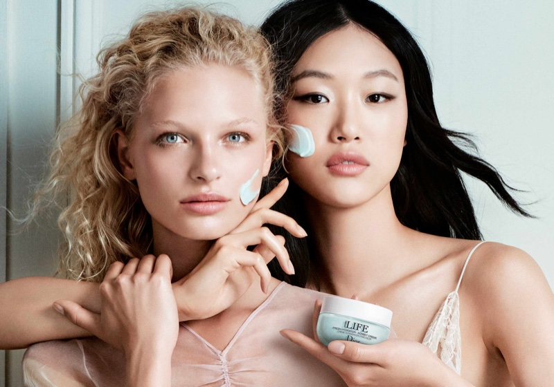 Frederikke Sofie & Sora Choi Are Flawless in Dior Hydra Life Campaign