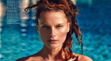 Elena Melnik Models Sun-Kissed Beauty Looks for S Moda
