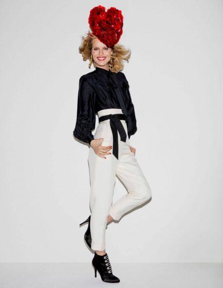Christy Turlington & Eva Herzigova Bring the Smiles to Vogue Paris