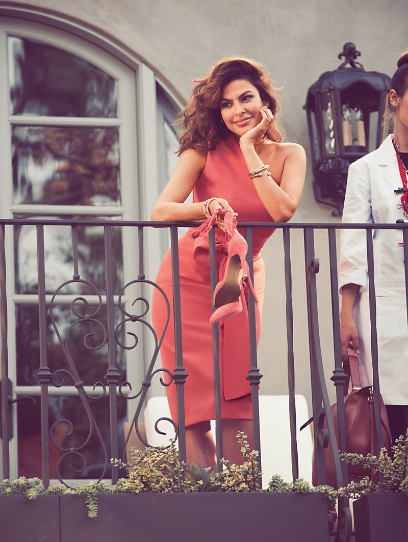 Eva Mendes poses for New York & Company's Spring 2017 Campaign