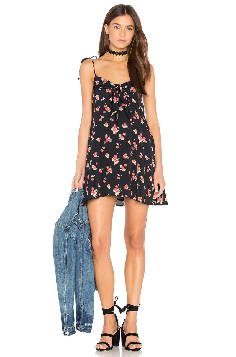 For Love & Lemons Cherry Tank Dress $189