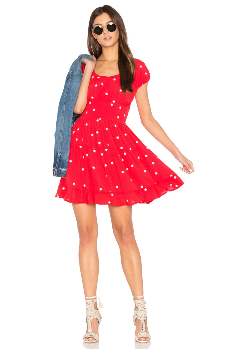 Wish List: Chase the Sun in For Love & Lemons' Flared Mini Dress