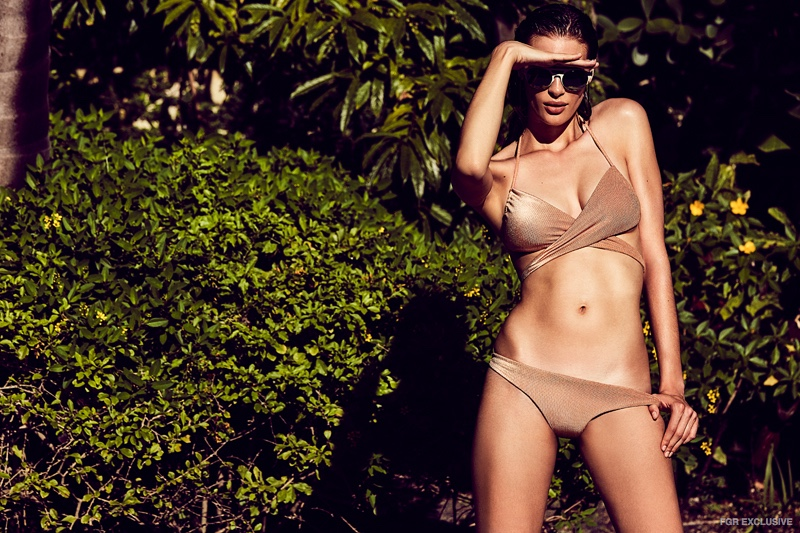 Swimsuit dbrie swim, Sunglasses Mykita available at IontheDistrict.com