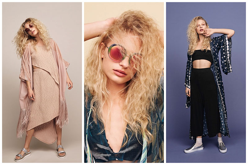 Frederikke Sofie Rocks Bohemian Outfits for Free People