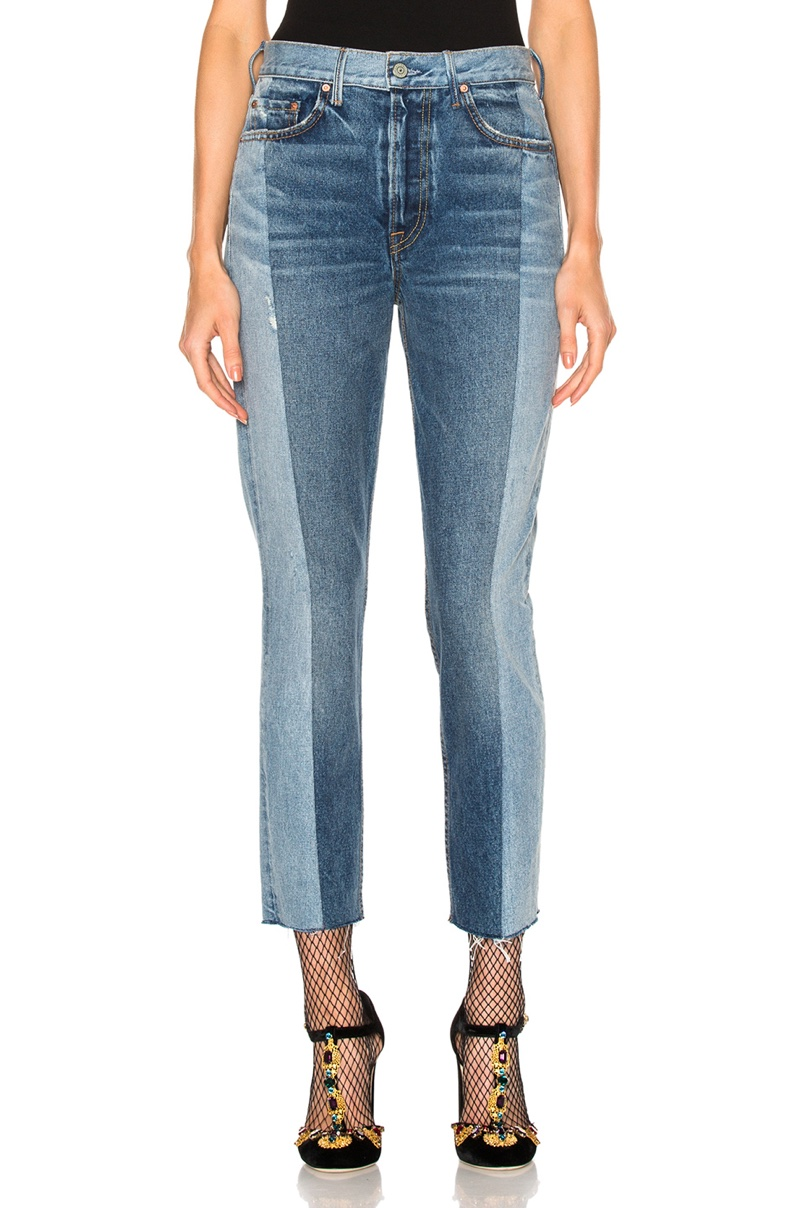 GRLFRND for FWRD Karolina High-Rise Skinny Jeans
