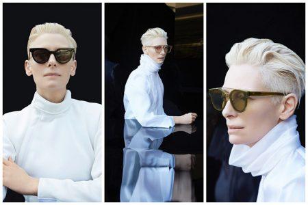 Tilda Swinton x Gentle Monster sunglasses collaboration