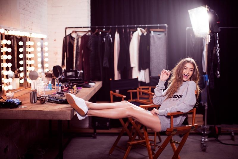 Gigi Hadid stars in Reebok's spring 2017 campaign