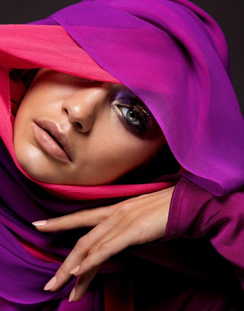 Inez & Vinoodh capture Gigi Hadid for Vogue Arabia's debut issue