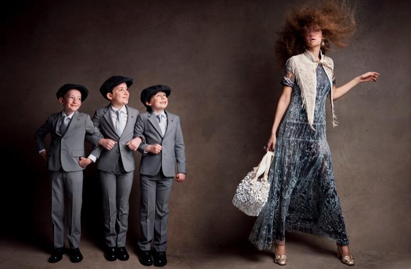 Gigi Hadid stars in Vogue Magazine's April issue