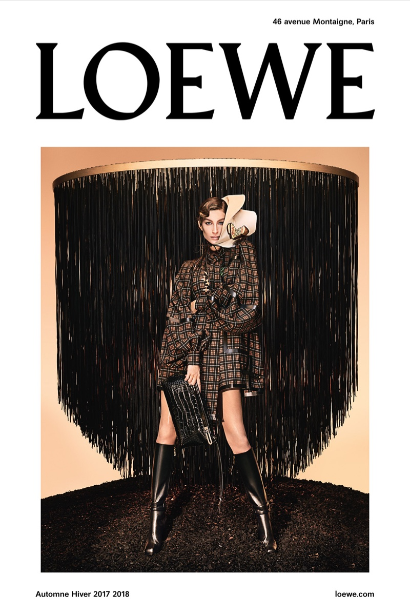 Gisele Bundchen stars in Loewe's fall-winter 2017 campaign