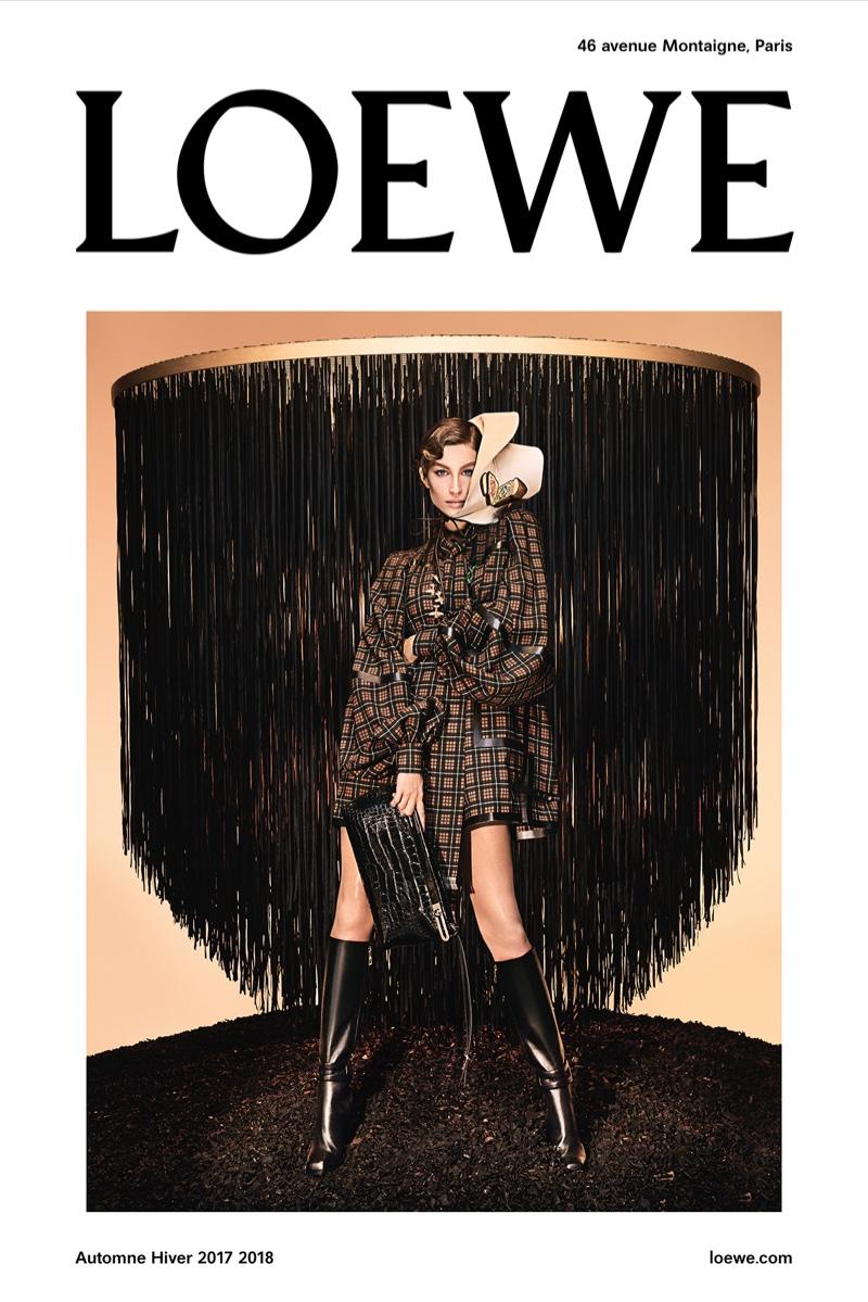 Gisele Bundchen stars in Loewe's fall-winter 2017 campaign