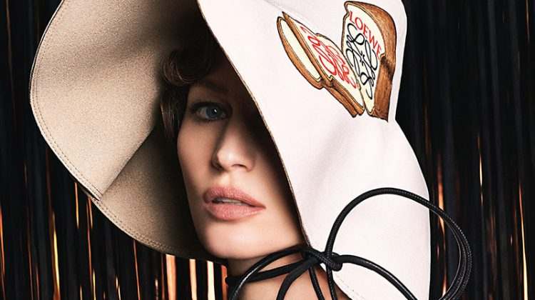 Gisele Bundchen Looks Super Glam in Loewe's Fall 2017 Campaign