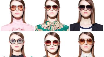 Just In: Gucci's Retro Inspired Spring 2017 Sunglasses Are Here