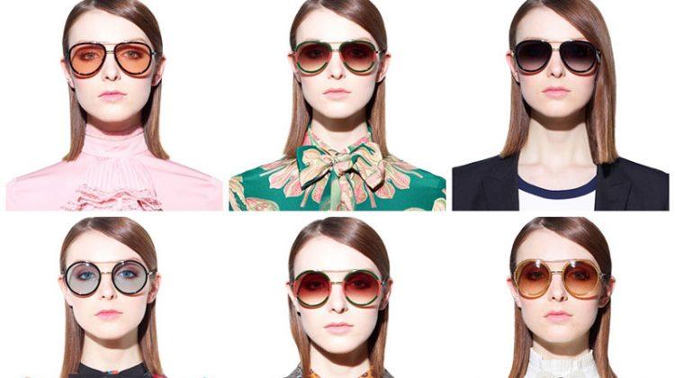 Gucci's spring-summer 2017 sunglasses land at MyTheresa