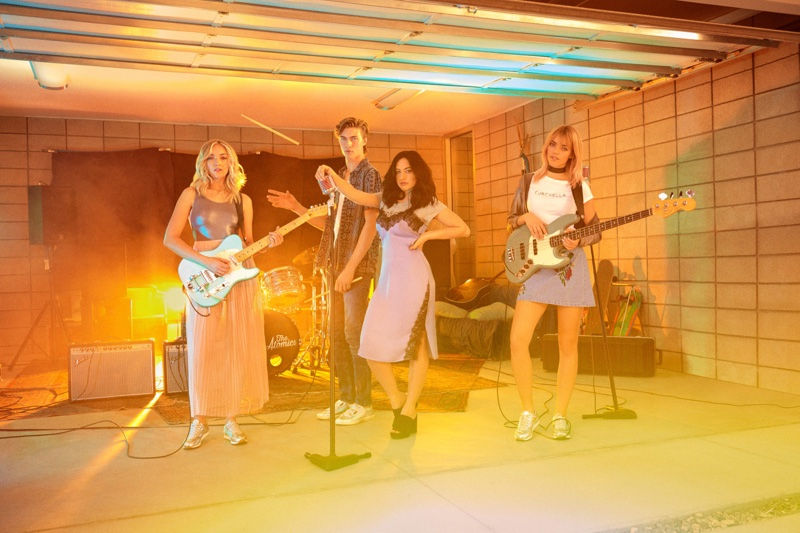 The Atomics star in H&M Loves Coachella 2017 campaign