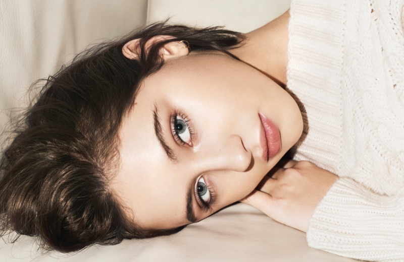 Iris Law stars in Burberry Beauty Essentials campaign