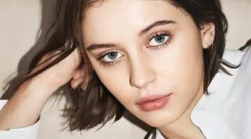 Iris Law Wears the 'Essentials' in New Burberry Beauty Campaign