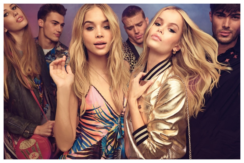 Jasmine Sanders & Frida Aasen Are Ready to Party in Just Cavalli's Spring 2017 Campaign