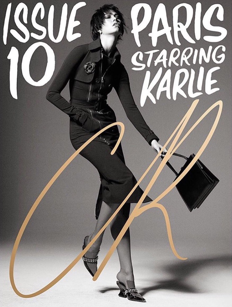 Karlie Kloss on CR Fashion Book Spring-Summer 2017 Cover