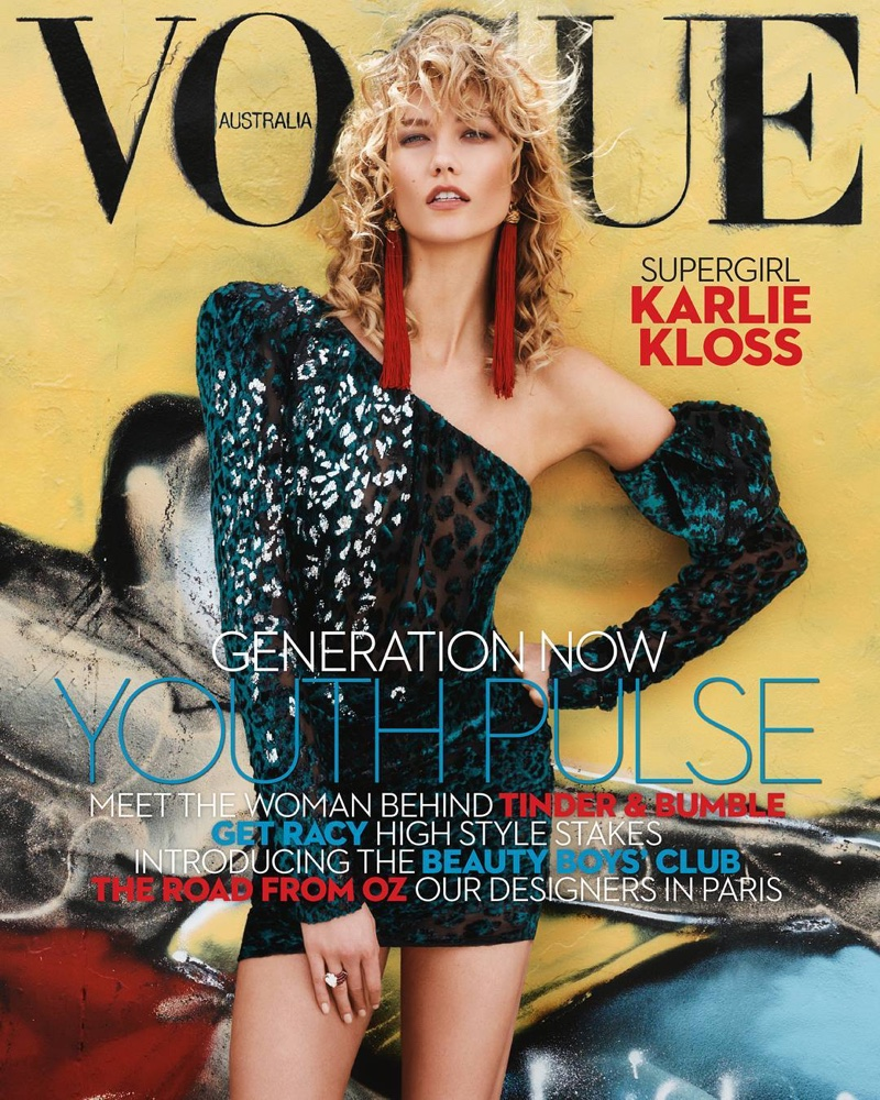 Karlie Kloss on Vogue Australia April 2017 Cover