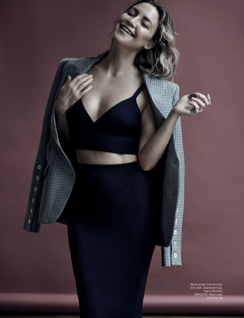 Kate Hudson Charms in Michael Kors Looks for Harper's Bazaar Singapore