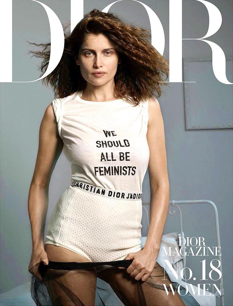Laetitia Casta on Dior Magazine #18 Cover