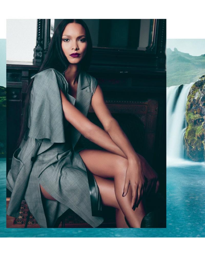 Lais Ribeiro stars in FLAUNT Magazine's Spring 2017 issue