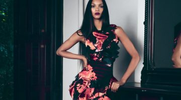 Lais Ribeiro Poses in the Spring Collections for Flaunt Magazine