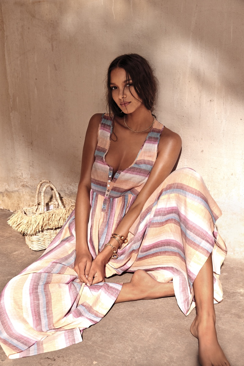 Lais Ribeiro Embraces Sunny Styles for Free People
