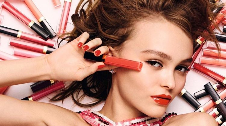 Lily-Rose Depp stars in Chanel's Coco Rouge Gloss campaign