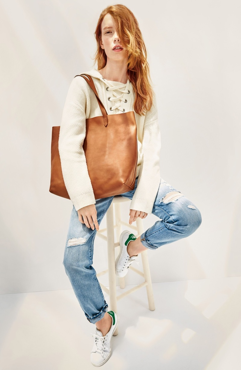 Wish List: Madewell's Essential Leather Tote Bag