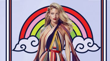 Martha Hunt Gets Drawn Into Beymen's Spring 2017 Campaign
