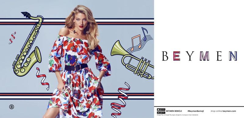 Martha Hunt stars in Beymen's spring-summer 2017 campaign