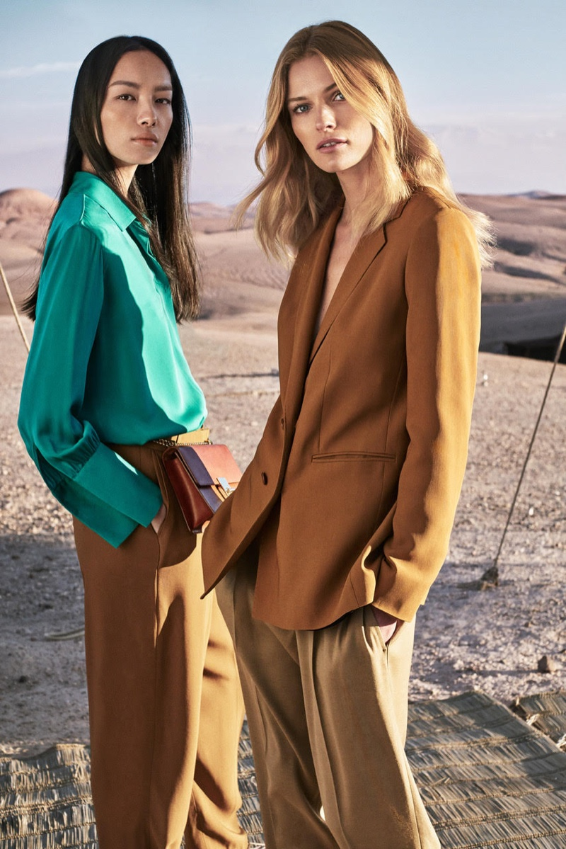 An image from Massimo Dutti's spring-summer 2017 advertising campaign